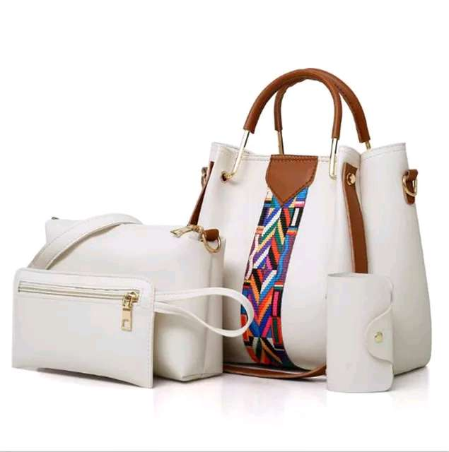 hand bags set 4 in 1